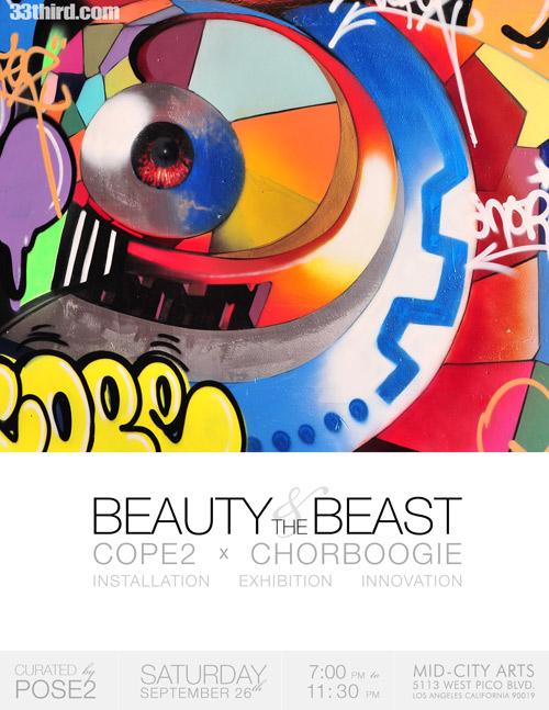 Beauty & The Beast Flyer