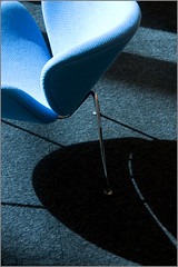 the smiling shadow (Caroline Castendijk) Tags: blue shadow abstract smile amsterdam architecture photography chair library curacao allrightsreserved bieb oba openbarebibliotheekamsterdam carolinecastendijk 2009carolinecastendijk fotografiecuracao curaaofotografie curacaofotografie carolinecastendijkphotography photographycuraao carolinecastendijkfotografie carolinecastendijkphotographer