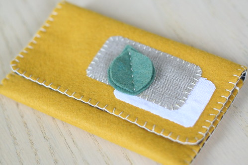 a new leafy wallet.