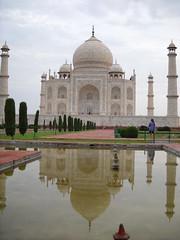 Taj Mahal just after dawn