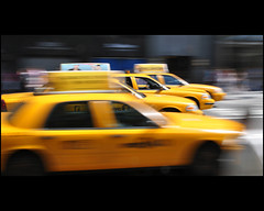 NYC ...    the yellow race (Dreamer7112) Tags: nyc newyorkcity ny newyork motion yellow nikon manhattan cab taxi yellowcab 5thavenue explore fifthavenue cabs panning iny inmotion d300 nyctaxi novaiorque yellowcabs dreamer7112 intentionalcameramovement nikond300  theyellowrace yellowrace
