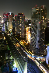 HAMAMATSU-CHO006 (Kosei.S) Tags: city light building japan night view hamamatsucho