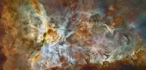 Carina Nebula Panorama from Hubble