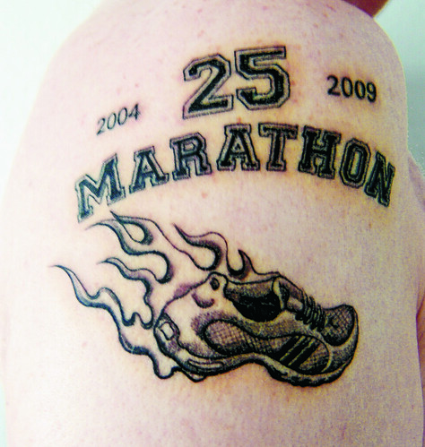 Marathon's of the Swissrunners (Set) · Tattoos (Group) · Tattoo Room (Group)