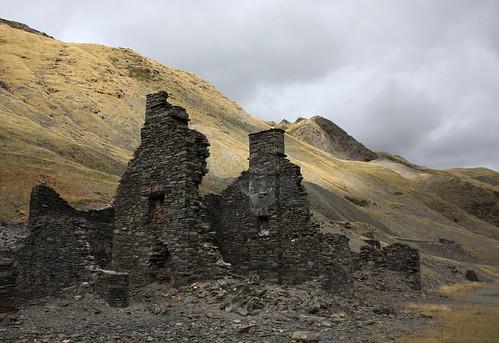 Old mine building, Cwmystwyth