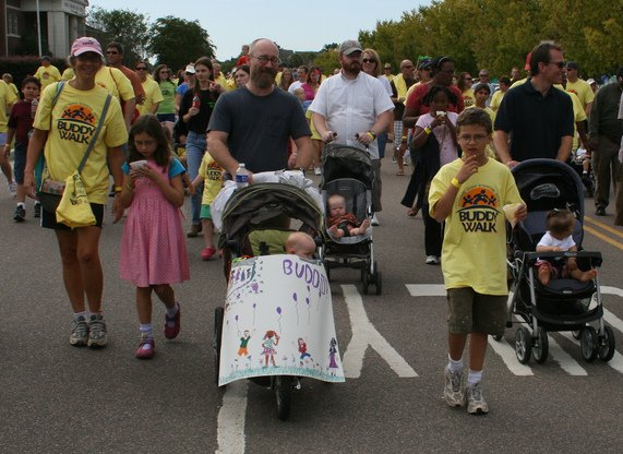 Walking in the Buddy Walk, 2009
