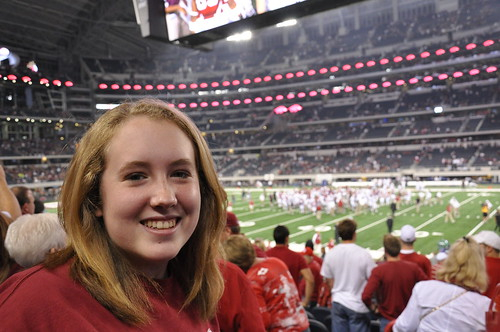 Shelby - Arkansas vs Texas A&M - Cowboys Stadium - Arlington, TX - 10/3/09