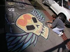 Flying Skull by Doug