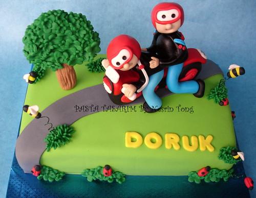 MOTORBIKE CAKE-DORUK