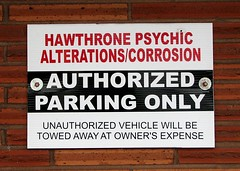 Sign in Hawthorne district, Portland, Oregon