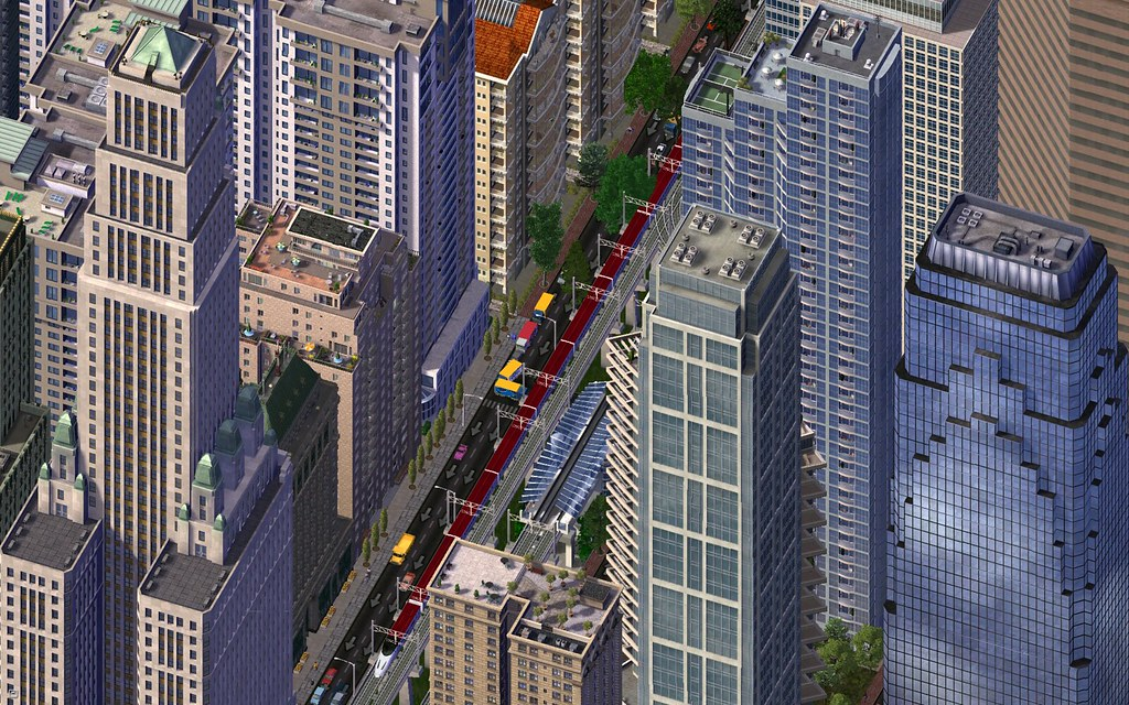 SimCity 4 Screenshot from Flickr user haljackey