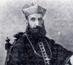 Bishop Joaquin Felipe Olaiz y Zabalza in 1914