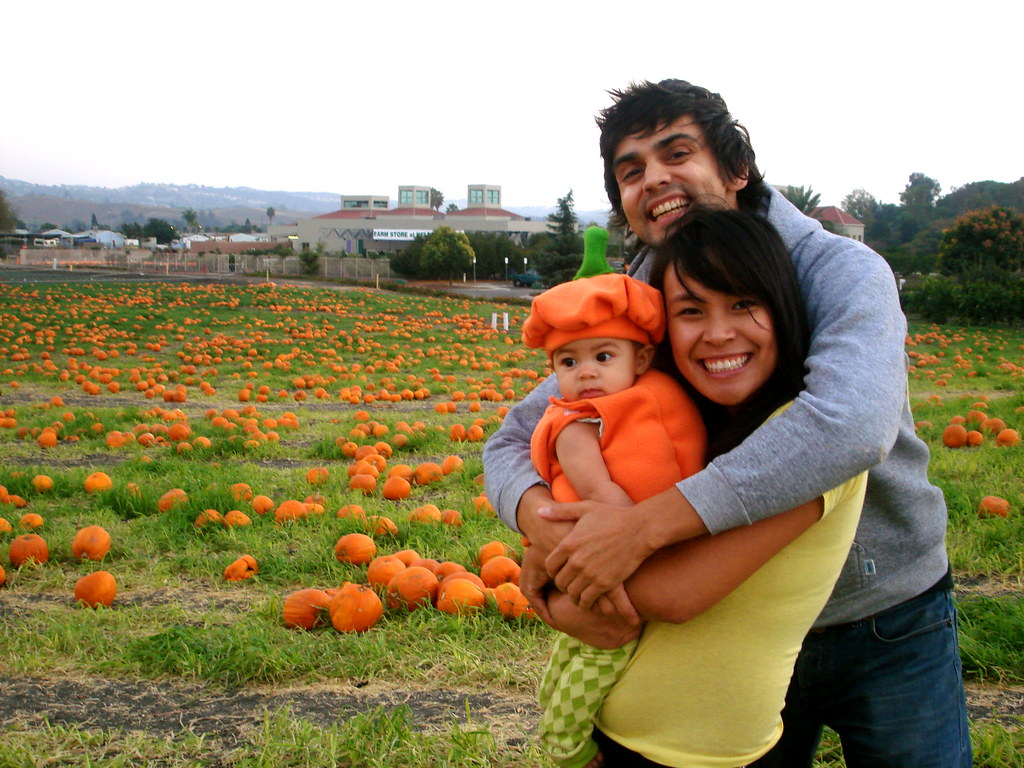 our first trip to the pumpkin farm