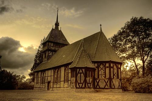 Tripkau - Evangelische Fachwerkkirche St. Maria 07