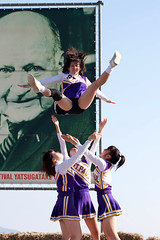 Support (TheJbot) Tags: girls festival japan japanese cheerleaders stpaul cheer yatsugatake ef85mmf18usm paulrusch