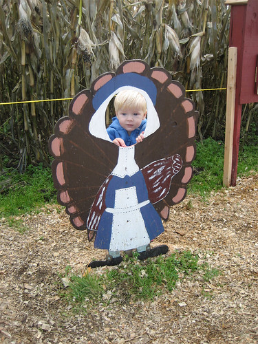 Jacob as a turkey