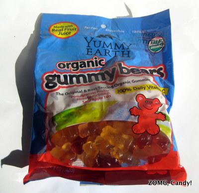 Yummy Earth Organic Gummy Bears