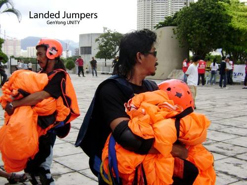 Landed Jumpers