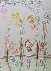 20090420-yoyo畫和乾媽去木柵動物園