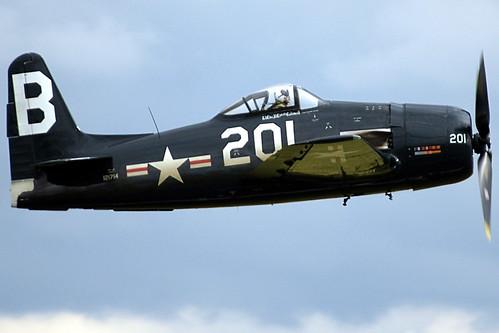 Warbird picture - G-RUMM  121714  Grumman F8F-2P Bearcat