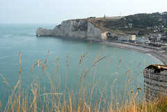 France 2009: Etretat - 2 (le petit danois) Tags: france coastline 2009 etretat falaises