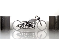 Motorcycle art Bike 100 Harley Davidson knucklehead (12)