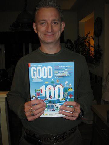 Matthew with GOOD Magazine