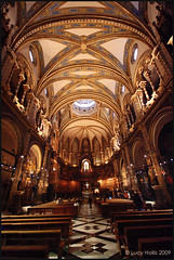 Montserrat Monastery (LucyBDA) Tags: barcelona church architecture gold golden spain tour sightseeing chapel catalonia spanish monastery fieldtrip montserrat ornate catalan sites landscapearchitecture