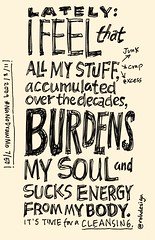NaNoDrawMo 2009 - 7/50 - Stuff Burdens My Soul