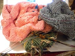 Christmas knitting