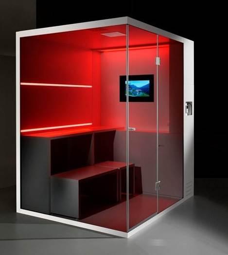 Cabinas De Ducha Foro:cabina de baño multifuncional la cual integra un sauna, un baño de