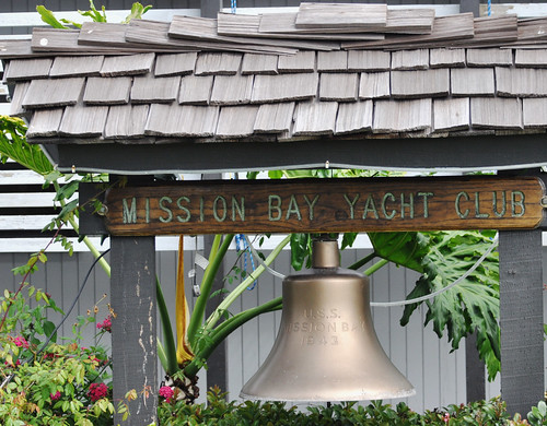 Bell from the Mission Bay