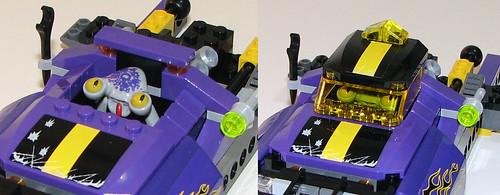 LEGO Space Police 2010 5982 Smash 'n' Grab - Cockpit/Cab