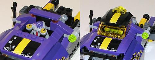 LEGO Space Police 2010 5982 Smash 'n' Grab - Cockpit/Cab
