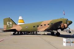 N2805J DC-3C American Flight Museum (eigjb) Tags: aircraft nasa edwardsafb douglas dc3 dakota usairforce c47 airbase edw gooneybird drydenflightresearchcenter dc3c kedw n2805j americanflightmuseum flighttestnation2009 43770en americanflightmuseuminc