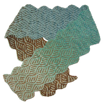 Free Brioche Knitting Patterns : BRIOCHE KNIT SCARF PATTERN Free Knitting and Crochet Patterns