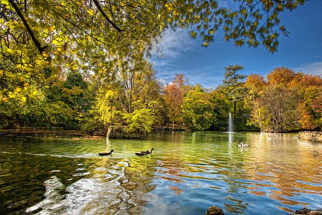 Park – Parque del Campo Grande, Valladolid (Spain) HDR