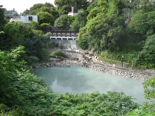 Beitou hot spring path