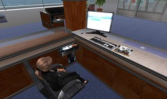 USQ Reception desk roleplay