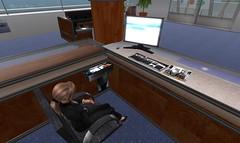 USQ Reception desk roleplay