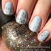 Nicole Winter Glitterland over Nubar Baby Blue