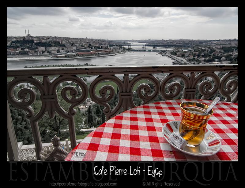 Café de Pierre Loti - Eyüp - Estambul