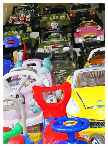 TOY CAR TRAFFIC, Old Quarter, Hanoi, Vietnam