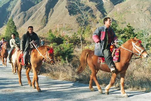 Horsemen at Huangya
