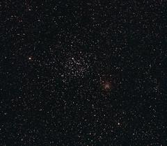 M35, NGC2158 (s58y) Tags: astrophotography astrophoto m35 ngc2158 ic2157 Astrometrydotnet:status=solved ic2156 Astrometrydotnet:version=13838 Astrometrydotnet:id=alpha20091202959605