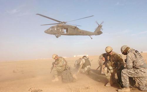 Michigan Guardsmen await extraction in Iraq