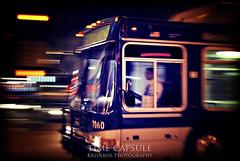 time capsule (Kris Kros) Tags: california ca bus night photoshop lights long exposure shot time metro flash capsule longbeach kris panning streaking kkg cs4 kros kriskros 7060 kkgallery