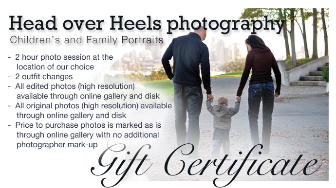 Gift cert family