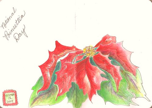 POINSETTIA DAY & HAPPY HOLIDAYS TO ALL
