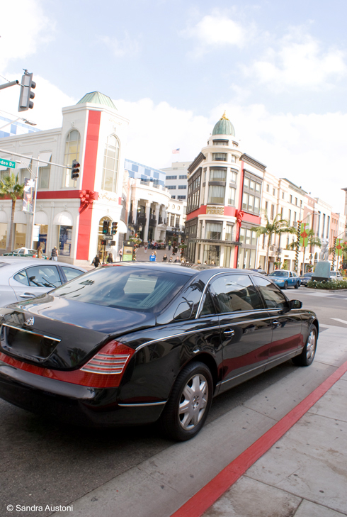 Maybach on Rodeo Drive